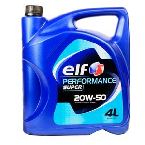 ACEITE ELF PERFORMANCE SUPER D MOTOR DIESEL 20W50 4 L 93055004