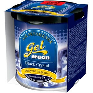 AREON GEL CAN BLACK CRYSTAL